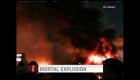 Explosión fatal en área de covid-19 de hospital en Iraq