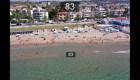 Vigilan las playas de España con drones