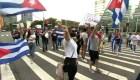 Protestan ante ONU en Nueva York contra dictadura en Cuba