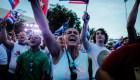 Venezolanos en Miami se unen a manifestación por Cuba