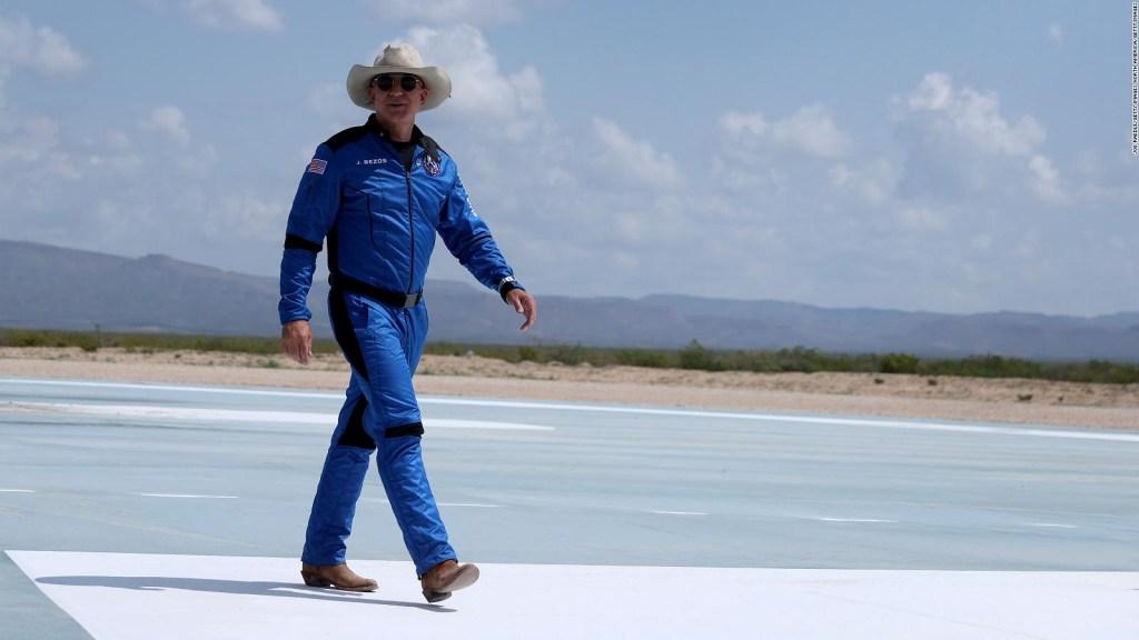 Bezos: Viaje al espacio es importante para medio ambiente