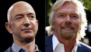 Bezos y Branson, ¿sin reconocimiento oficial?