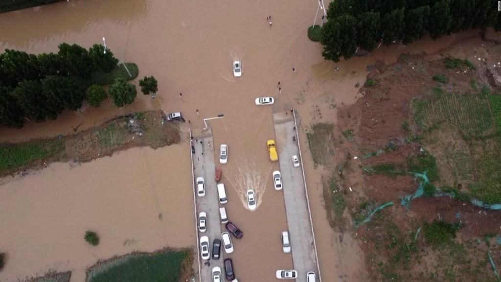 China no relaciona las lluvias con el cambio climático