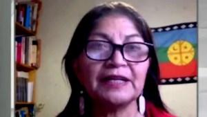 Loncón: Venimos con una Constitución escrita en dictadura