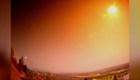 Meteoro ilumina los cielos escandinavos en plena noche