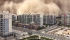 Tormenta de arena gigante cubre una ciudad de China