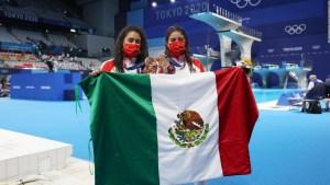 México se baña de bronce olímpico