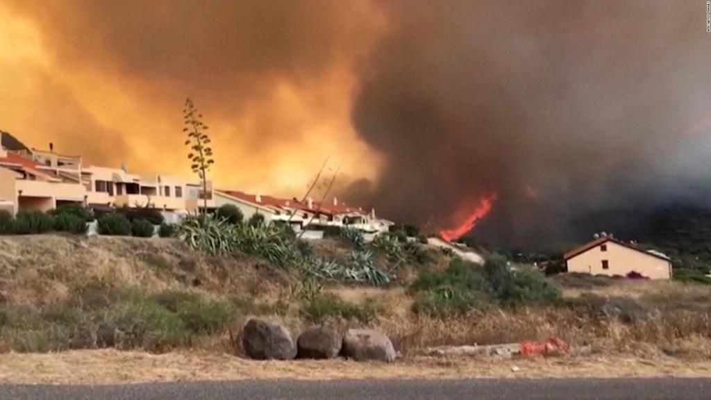 Devastadores incendios forestales en Europa