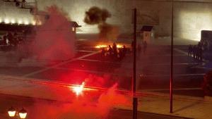 Disturbios en Francia por rechazo a pase verde