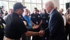 Biden llega a Miami a una semana de la tragedia