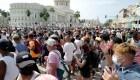 Miles de manifestantes en Cuba reclaman libertades