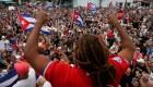 """""""Libertad e intervención"""", el grito de los cubanos en Miam"""