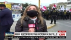 """""""En defensa de la patria"""": la primera manifestación en contra del gobierno de Pedro Castillo"""
