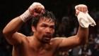Pacquiao y las dificultades de boxear con más de 40 años