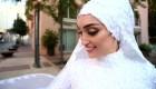La novia de Beirut pide seguridad a un año de explosión