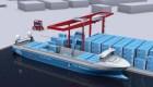 Mira el primer buque de carga autónomo y cero emisiones