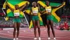 Las velocistas jamaiquinas buscan inspirar a las jóvenes