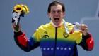 Tokio 2020: la alegría de Daniel Dhers tras ganar plata