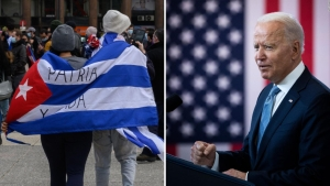 Cubanoestadounidense exhorta a Biden a la acción