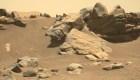 Parece un desierto rocoso de Arizona, pero está en Marte