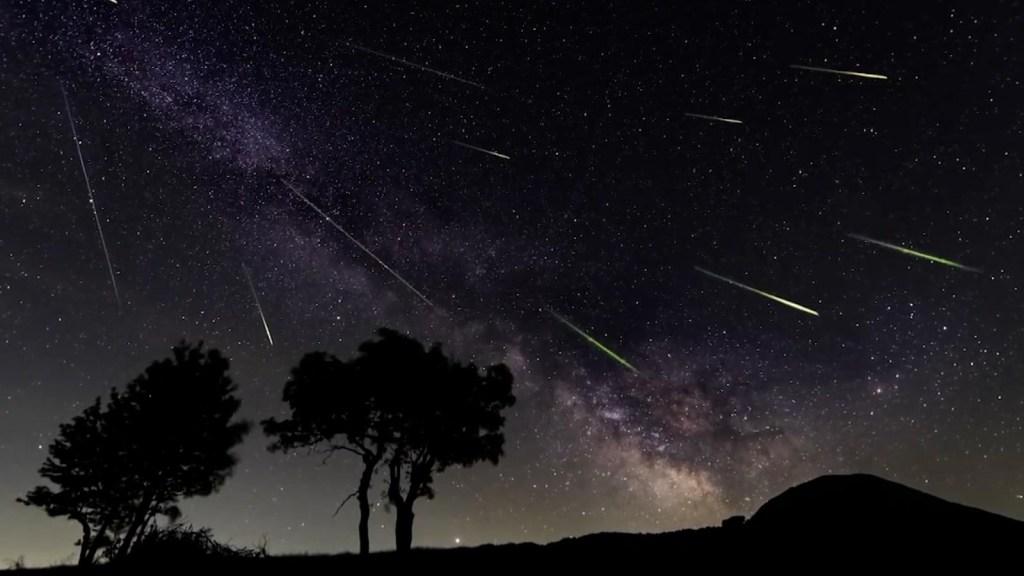 Espectacular lluvia de estrellas fugaces llega en agosto