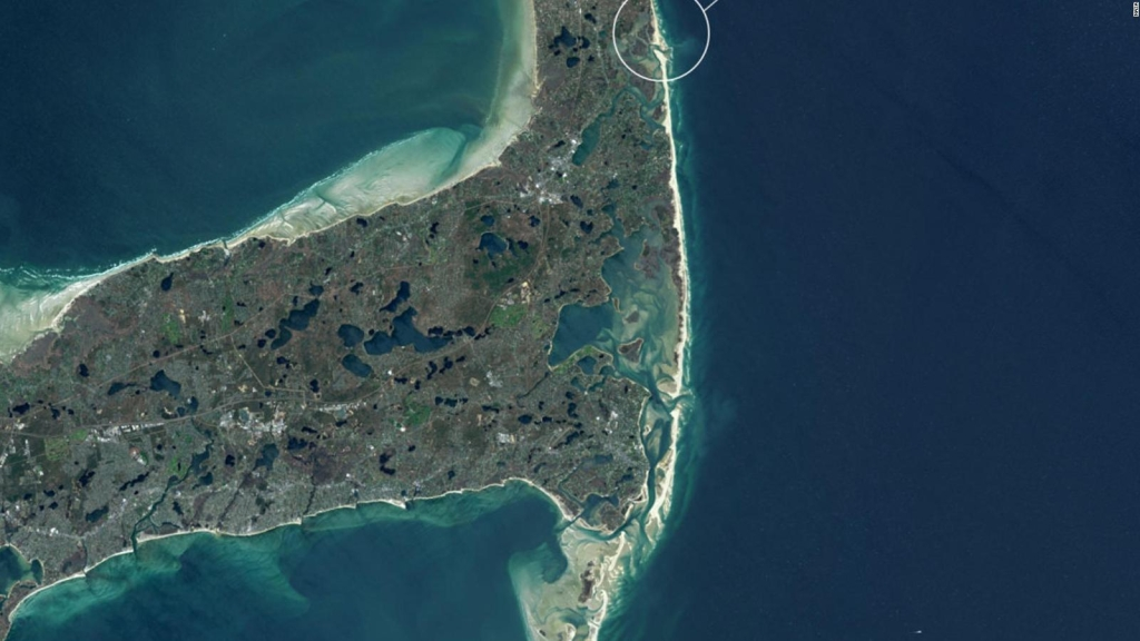 Las 10 mejores playas de EE.UU. vistas desde el espacio