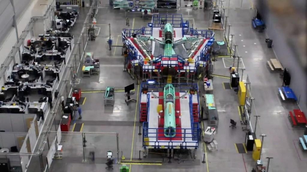 Así construyen el avión supersónico silencioso de la NASA