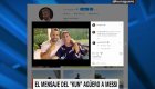 Mensaje del Kun Agüero a Messi, con sabor a despedida