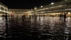 Una inusual inundación afecta a Venecia