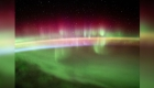Así se ve la aurora austral desde el espacio