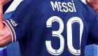 Lionel Messi portará el número 30 en el PSG