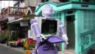 Robot se adapta a la pandemia en Indonesia