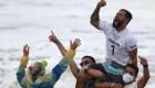 La emoción de Ítalo Ferreira, gloria olímpica brasileña