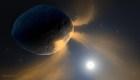 El misterioso asteroide que actúa como un cometa
