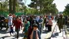 Imágenes de pánico de afganos que huyen de los talibanes