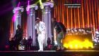 Bad Bunny sorprende en concierto del grupo Aventura