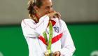 """Mónica Puig: """"Hacer deporte es fundamental para la salud mental"""""""