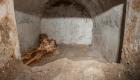 En Pompeya descubren esqueleto que todavía tiene pelo