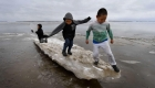 Niños en riesgo por crisis climática