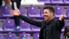 Se emociona Simeone por regreso de la hinchada al estadio