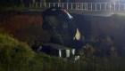 Muertos y heridos por colapso de vía de Mississippi
