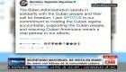 dusa EE.UU. sanciona a más funcionarios cubanos como respuesta a la represión en la isla