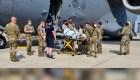 Madre afgana dio a luz en un avión de evacuación