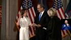 Kathy Hochul toma posesión como gobernadora de Nueva York