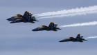 Mira la asombrosa formación de la Fuerza Aérea de EE.UU.