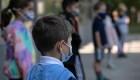 Niños, el 26,8% de casos diarios de covid-19 en EE.UU.