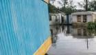 Así dañó una casa el huracán Ida