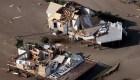 Drones muestran la destrucción que dejó el huracán Ida