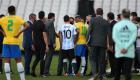 Brasil vs. Argentina: lo que provocó la suspensión