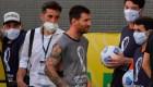 Esto fue lo que dijo Messi tras la suspensión del clásico sudamericano